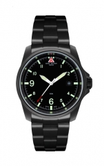 SMW Swiss Military Watch - Black Terra Commander